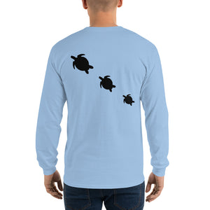 Three Honu Long Sleeve Tee