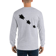 Load image into Gallery viewer, Three Honu Long Sleeve Tee