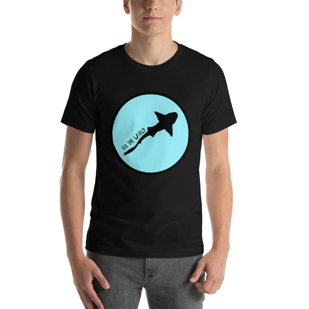 Shark in Circle T-Shirt