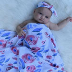 Load image into Gallery viewer, Swaddle + Headband set