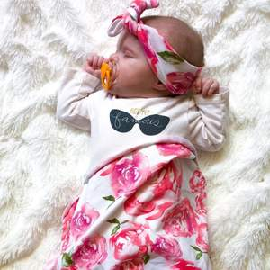 Swaddle + Headband set