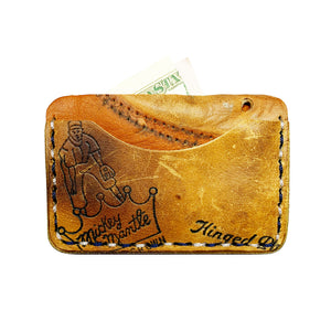 1950's Mickey Mantle Rawlings MM9 3-Pocket Wallet