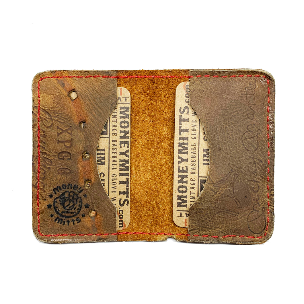 1960's Mickey Mantle Rawlings XPG6 3-Pocket Fold-Over Wallet