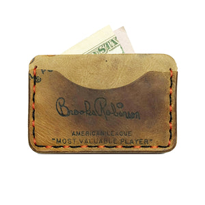 1960's Brooks Robinson Rawlings MVP BR1 3-Pocket Wallet