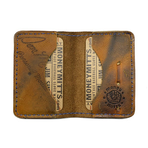 1960's Wilson A2846 Big Scoop 4-Pocket Fold-Over Wallet