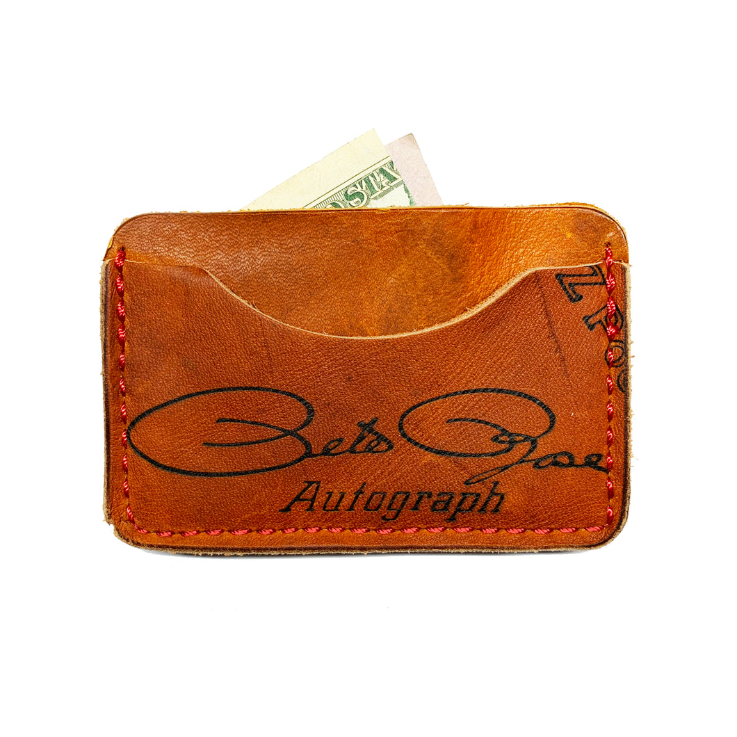 1970's Pete Rose Mizuno MT 6000 3-Pocket Wallet