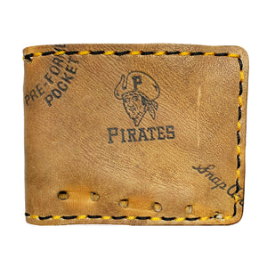 1970's Pittsburgh Pirates Baseball Glove Billfold