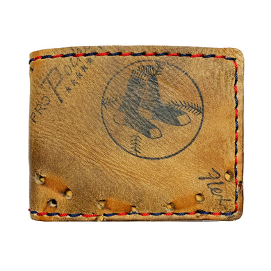 1970's Boston Red Sox Baseball Glove Billfold