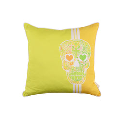 'Skull' Cotton Cushion