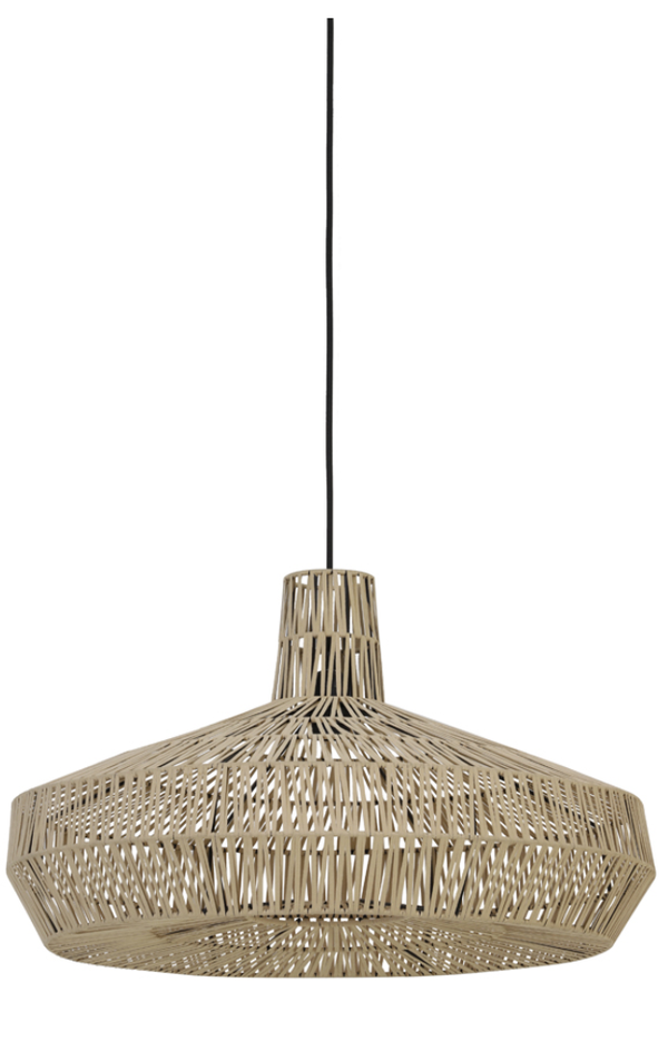 MASEY Leather natural hanging lamp