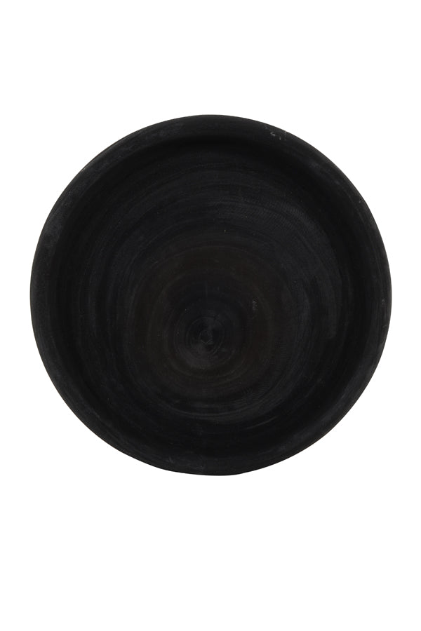 CENON wood black dish