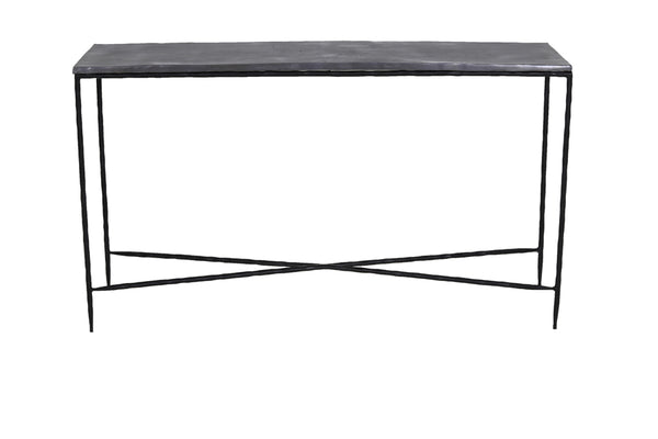 LOCOBE antique lead side table