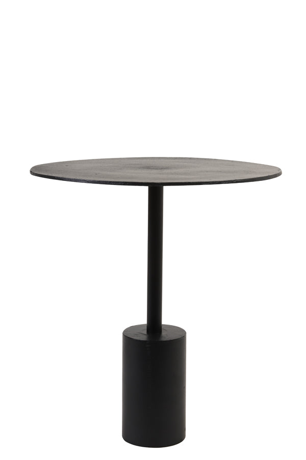 MOLO matt black side table