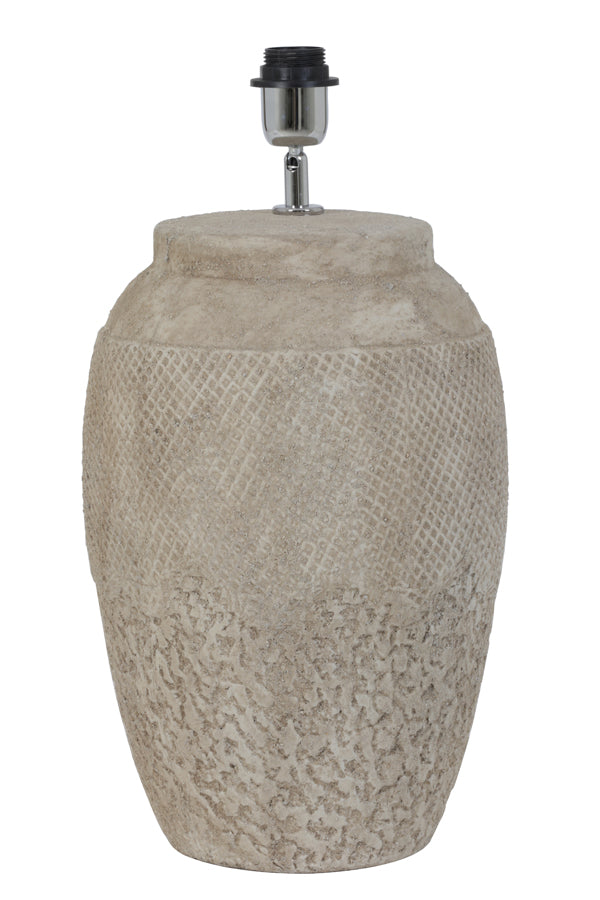 VERTAS ceramics cement lamp base