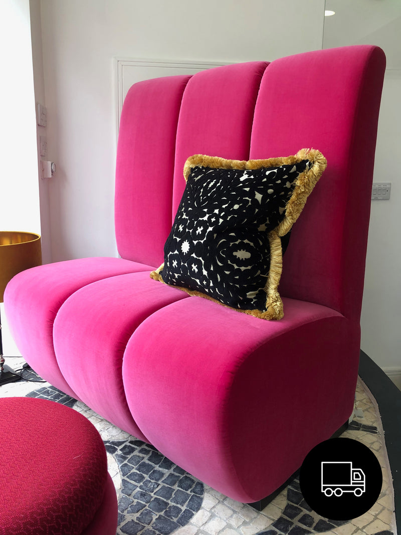 Katy Booth Seating Fuschia
