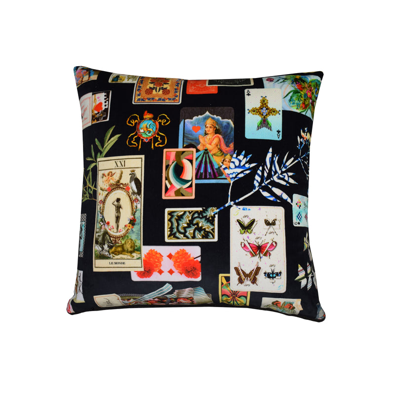 Christian LaCroix 'Maison de jeu' cushion