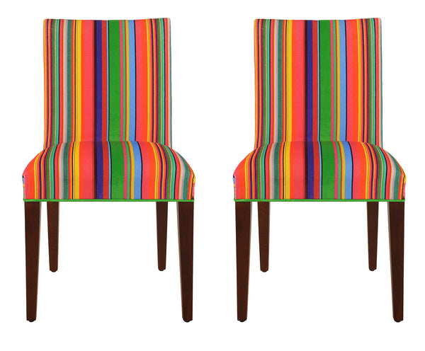 Pierre Velvet Chairs - PAIR