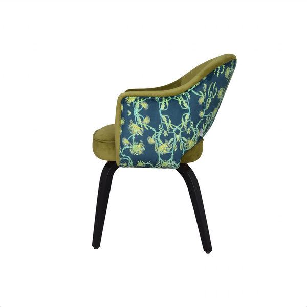 x4 TLC Print Georgina dining chairs