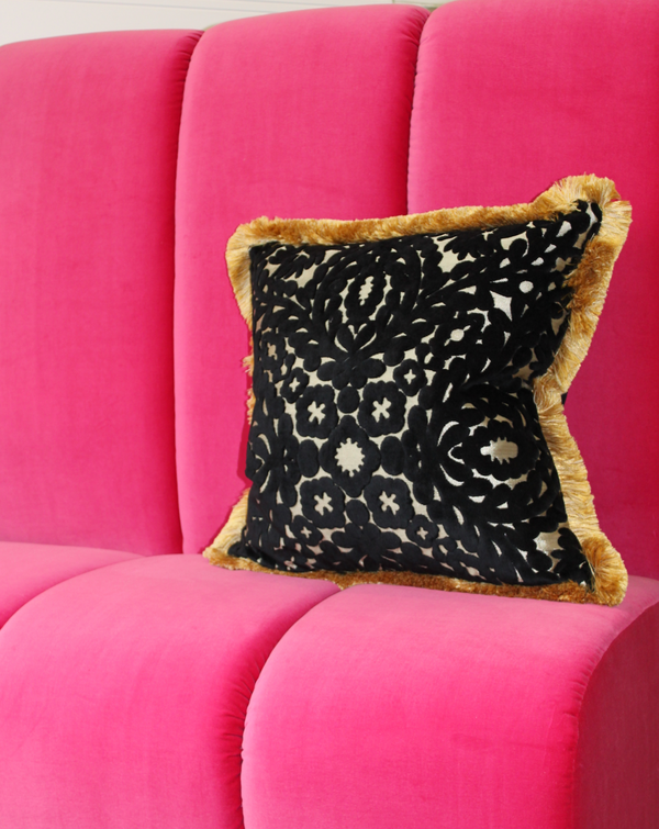 Christian LaCoix 'Paseo Doble' cushion