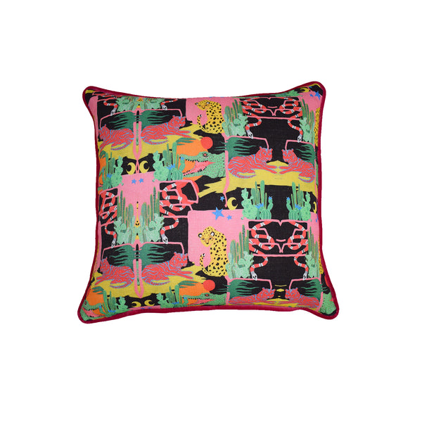 'Jungle boogie' Print Cushion