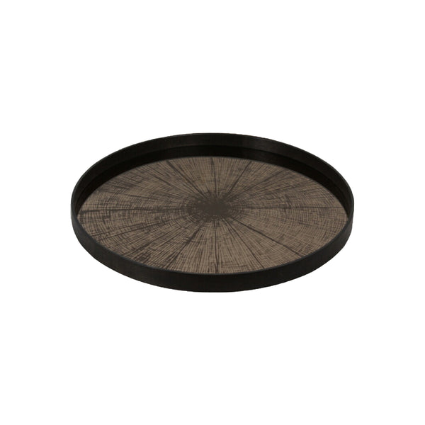 Notre Monde Bronze Slice Mirror Collection