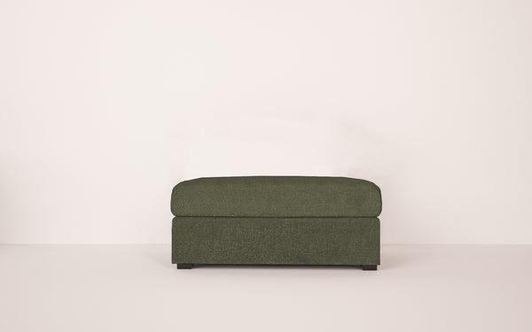 Belgrave Ottoman in Smart Wool