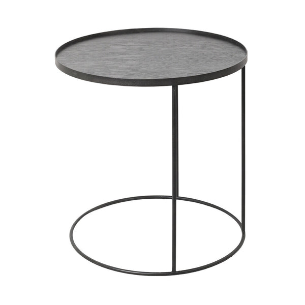 NOTRE MONDE ROUND TRAY SIDE TABLE