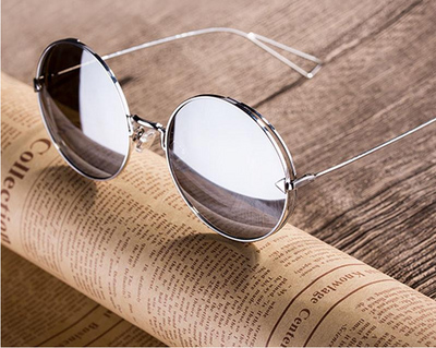 Fashion Brand Vintage Classic Women Sunglasses Square Metal Frame - Go Sunglasses