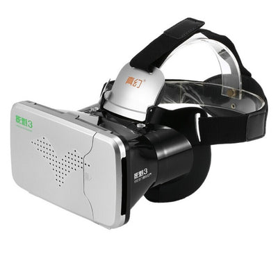 Riem III 3D VR Glasses Head Mounted Theater for 3.5 - 6 inches Smartphone - Go Sunglasses