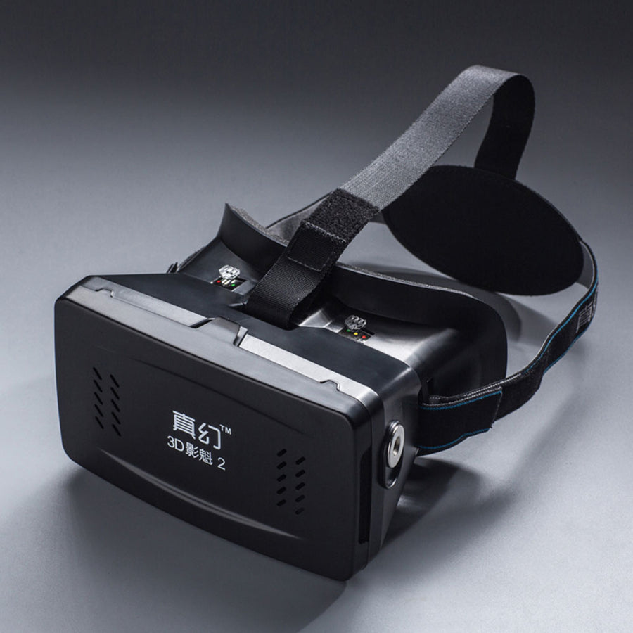 "Private 3D Virtual Reality Glasses Box with Magnetic HandBelt for 3.5 ~ 6.0"" Smart Phones"