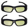 Active DLP Link 3D Glasses Compatible With Optama/Acer/BenQ/ViewSonic/Sharp/Dell DLP Link Projectors - Go Sunglasses
