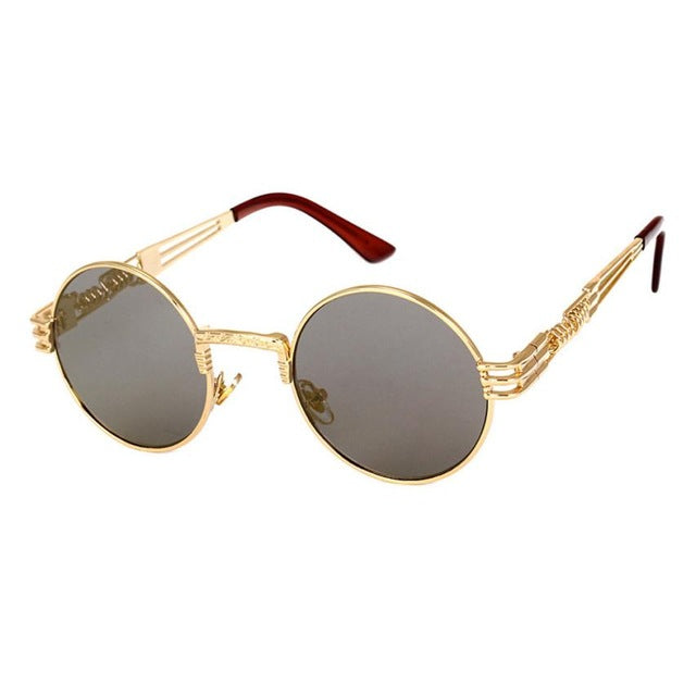Men Women Eyeglasses Round Shades