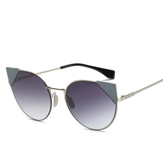 Luxury Metal Sunglasses Women Sun glasses