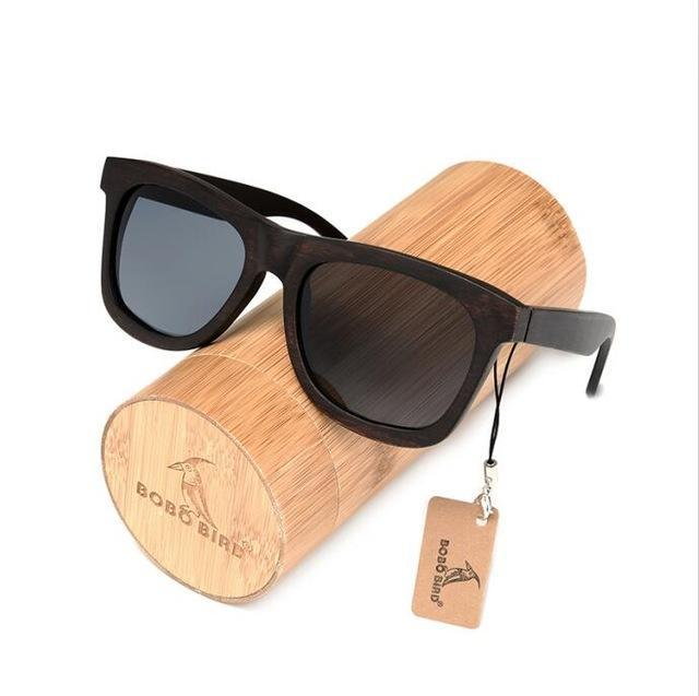Ebony Wooden Sunglasses Men's Luxury