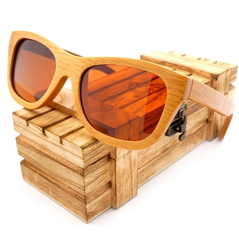 BOBO BIRD Handmade Men women Wood Sunglasses