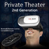 "VR BOX Pro Version 3D Glasses for 4~6""smartphone+Bluetooth V3.0 Wireless Controller Gamepad - Go Sunglasses"