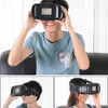 "Virtual Reality Google Cardboard 3D Glasses Head-Mounted for 3.5~6"" Phone - Go Sunglasses"