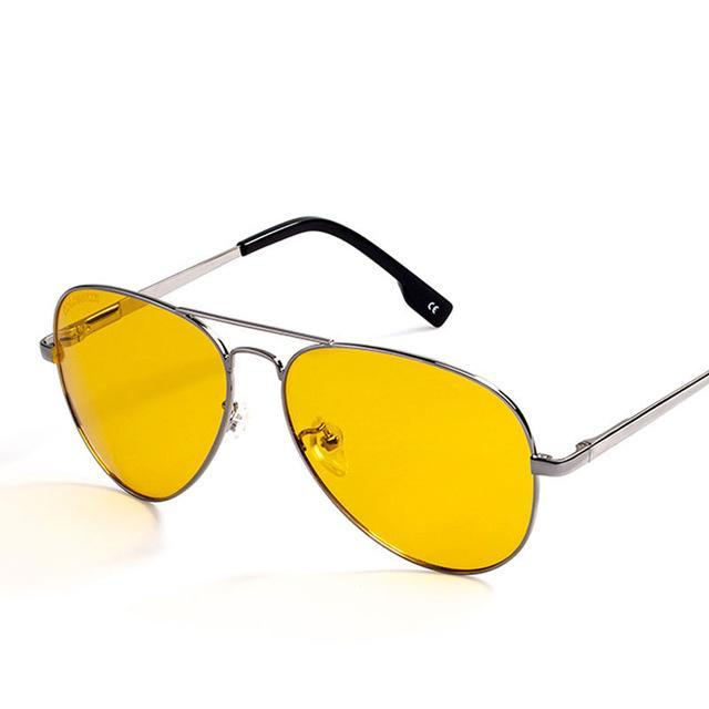 Pilot Style Sunglasses Men Women Fashion Eyewear
