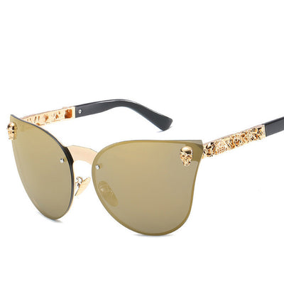 2018 New Cat Eye Sunglasses Women Men Luxury Brand Designer - Go Sunglasses