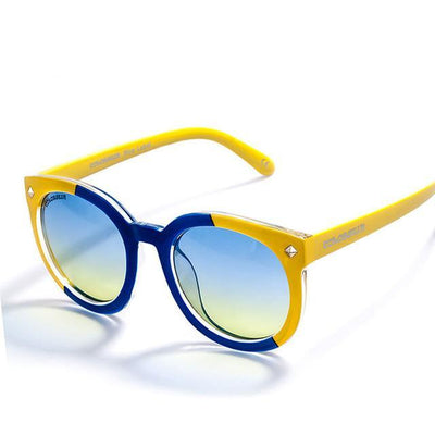 Sunglasses Brand Designer Fashion Sunglasses Round Frame - Go Sunglasses
