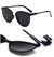 Unisex Men Women sunglasses Square Vintage Mirrored Sunglasses