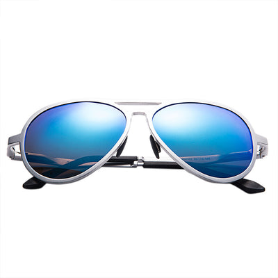 Classic Men/women's Sunglasses Reflective Coating Lens Eyewear - Go Sunglasses