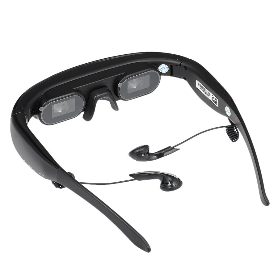 "4GB 52"" 4:3 Virtual Wide Screen Video Glasses"