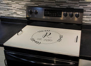 OAK STOVE TOP COVER | Serving Tray Stove Top Cover | J Thomas Home