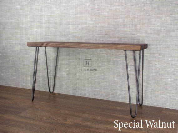 HAIRPIN LEG ENTRY BENCH | Furniture | J Thomas Home