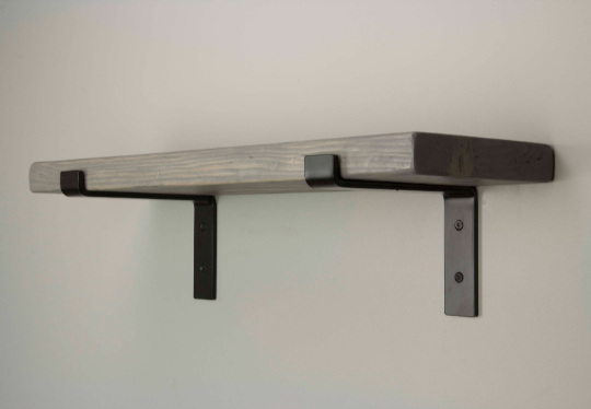 FARMHOUSE L BRACKET FLOATING SHELF | Shelves | J Thomas Home