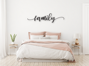 FAMILY WOODEN WALL SIGN | FARMHOUSE DECOR | Sign | J Thomas Home