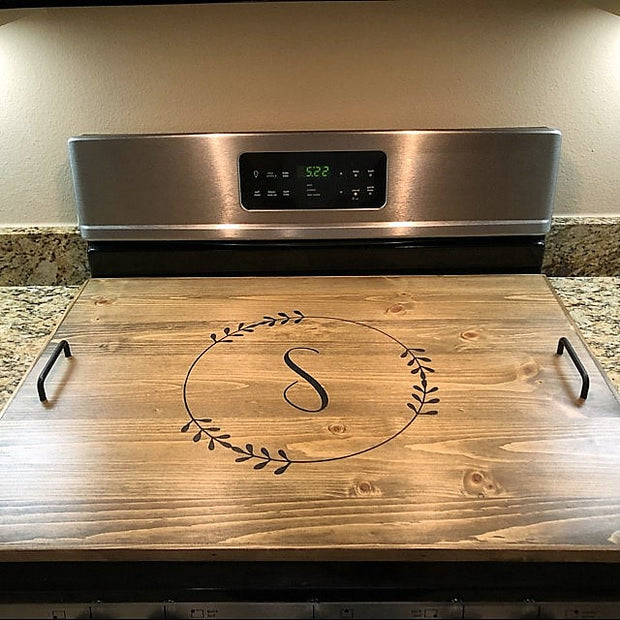 PINE STOVE TOP COVER