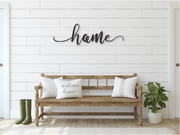 HOME WOODEN WALL SIGN | FARMHOUSE DECOR | Sign | J Thomas Home