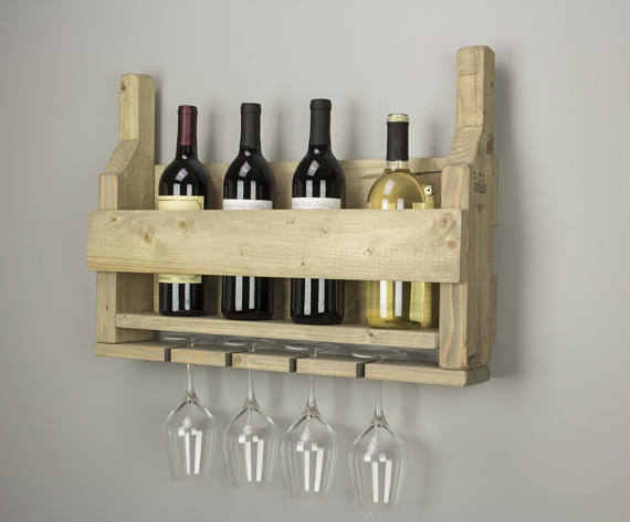 Wooden Wine Rack | Racks | J Thomas Home